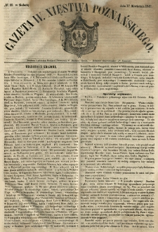 Gazeta Wielkiego Xięstwa Poznańskiego 1847.04.17 Nr89