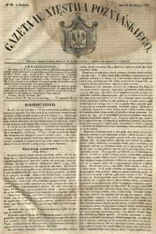 Gazeta Wielkiego Xięstwa Poznańskiego 1847.04.24 Nr95