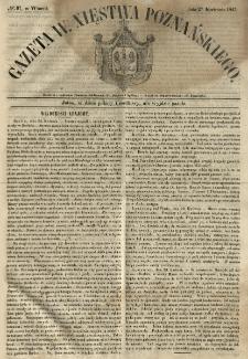 Gazeta Wielkiego Xięstwa Poznańskiego 1847.04.27 Nr97