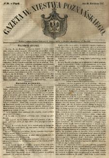 Gazeta Wielkiego Xięstwa Poznańskiego 1847.04.30 Nr99