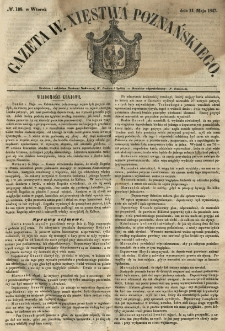 Gazeta Wielkiego Xięstwa Poznańskiego 1847.05.11 Nr108