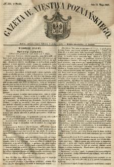 Gazeta Wielkiego Xięstwa Poznańskiego 1847.05.19 Nr114