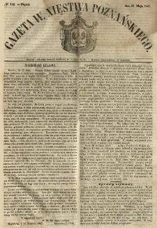 Gazeta Wielkiego Xięstwa Poznańskiego 1847.05.21 Nr116