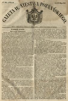 Gazeta Wielkiego Xięstwa Poznańskiego 1847.05.25 Nr118