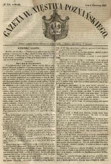 Gazeta Wielkiego Xięstwa Poznańskiego 1847.06.02 Nr125