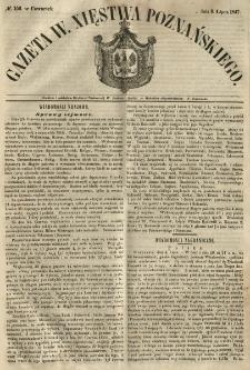 Gazeta Wielkiego Xięstwa Poznańskiego 1847.07.08 Nr156