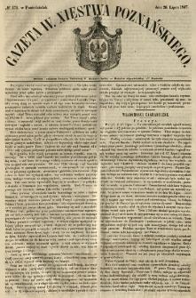 Gazeta Wielkiego Xięstwa Poznańskiego 1847.07.26 Nr171