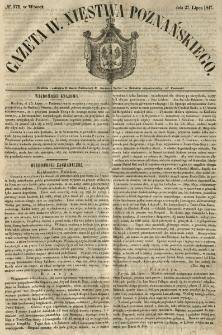Gazeta Wielkiego Xięstwa Poznańskiego 1847.07.27 Nr172