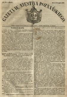 Gazeta Wielkiego Xięstwa Poznańskiego 1847.08.04 Nr179