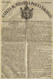 Gazeta Wielkiego Xięstwa Poznańskiego 1847.08.07 Nr182