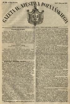 Gazeta Wielkiego Xięstwa Poznańskiego 1847.08.09 Nr183