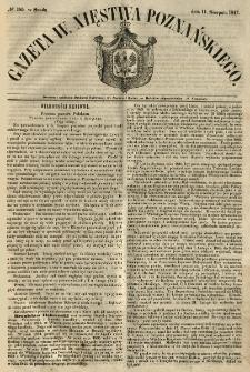 Gazeta Wielkiego Xięstwa Poznańskiego 1847.08.11 Nr185
