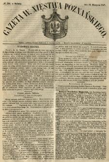 Gazeta Wielkiego Xięstwa Poznańskiego 1847.08.21 Nr194