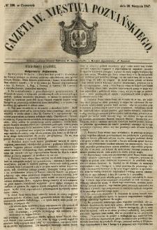 Gazeta Wielkiego Xięstwa Poznańskiego 1847.08.26 Nr198