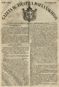 Gazeta Wielkiego Xięstwa Poznańskiego 1847.08.27 Nr199