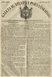 Gazeta Wielkiego Xięstwa Poznańskiego 1847.09.08 Nr209