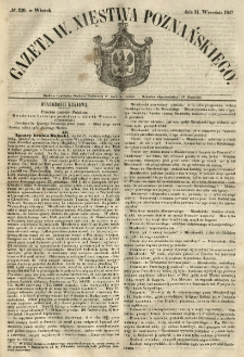 Gazeta Wielkiego Xięstwa Poznańskiego 1847.09.21 Nr220