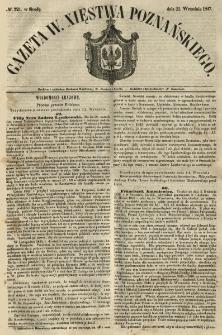 Gazeta Wielkiego Xięstwa Poznańskiego 1847.09.22 Nr221