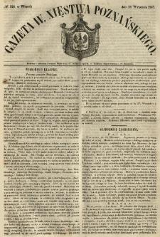 Gazeta Wielkiego Xięstwa Poznańskiego 1847.09.28 Nr226