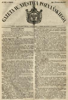 Gazeta Wielkiego Xięstwa Poznańskiego 1847.10.02 Nr230