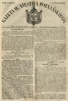 Gazeta Wielkiego Xięstwa Poznańskiego 1847.10.07 Nr234