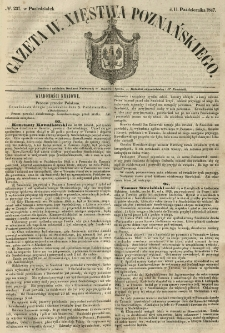 Gazeta Wielkiego Xięstwa Poznańskiego 1847.10.11 Nr237