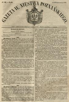 Gazeta Wielkiego Xięstwa Poznańskiego 1847.10.13 Nr239