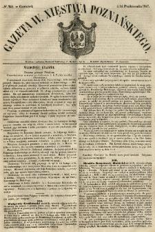 Gazeta Wielkiego Xięstwa Poznańskiego 1847.10.14 Nr240