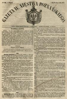 Gazeta Wielkiego Xięstwa Poznańskiego 1847.10.15 Nr241