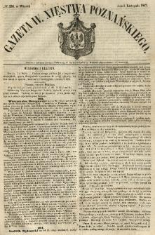 Gazeta Wielkiego Xięstwa Poznańskiego 1847.11.02 Nr256
