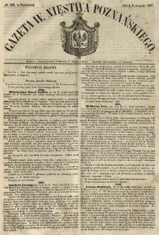 Gazeta Wielkiego Xięstwa Poznańskiego 1847.11.04 Nr258