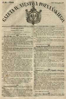 Gazeta Wielkiego Xięstwa Poznańskiego 1847.11.09 Nr262