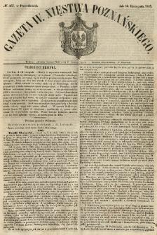 Gazeta Wielkiego Xięstwa Poznańskiego 1847.11.15 Nr267