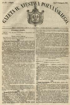 Gazeta Wielkiego Xięstwa Poznańskiego 1847.11.19 Nr271