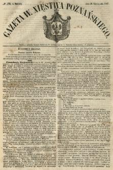 Gazeta Wielkiego Xięstwa Poznańskiego 1847.11.20 Nr272
