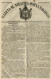 Gazeta Wielkiego Xięstwa Poznańskiego 1847.11.22 Nr273