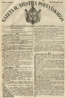 Gazeta Wielkiego Xięstwa Poznańskiego 1847.11.23 Nr274