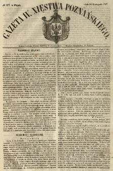 Gazeta Wielkiego Xięstwa Poznańskiego 1847.11.26 Nr277