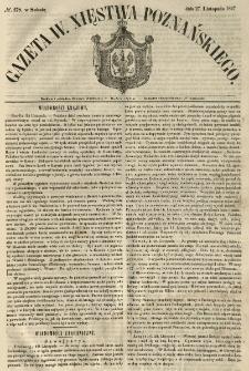 Gazeta Wielkiego Xięstwa Poznańskiego 1847.11.27 Nr278