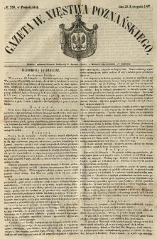 Gazeta Wielkiego Xięstwa Poznańskiego 1847.11.29 Nr279