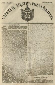 Gazeta Wielkiego Xięstwa Poznańskiego 1847.12.13 Nr291