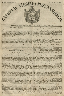 Gazeta Wielkiego Xięstwa Poznańskiego 1847.12.20 Nr297