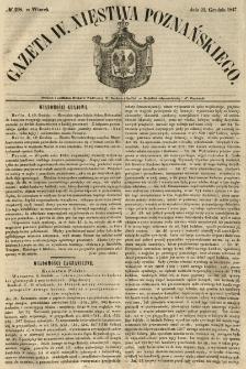 Gazeta Wielkiego Xięstwa Poznańskiego 1847.12.21 Nr298