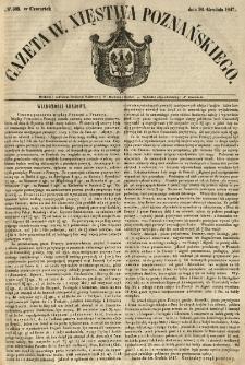 Gazeta Wielkiego Xięstwa Poznańskiego 1847.12.30 Nr305