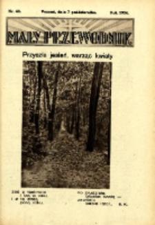 Mały Przewodnik 1934.10.07 Nr40