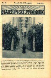Mały Przewodnik 1934.11.25 Nr47